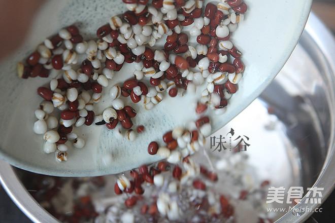 红豆薏米饭的家常做法