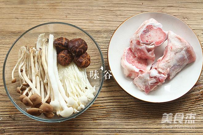 棒骨菌菇汤的做法大全