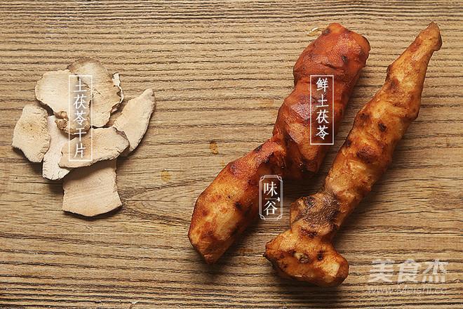土茯苓赤小豆猪薏米汤的家常做法