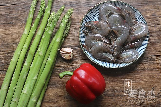 芦笋炒虾仁的做法大全