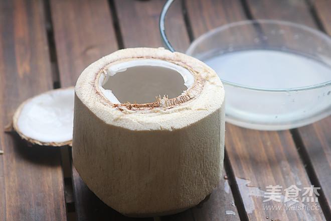 椰子八宝饭的简单做法