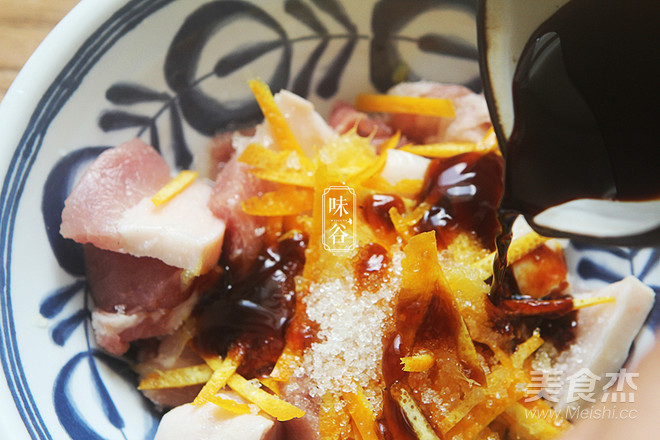 橙香五花肉怎么煮