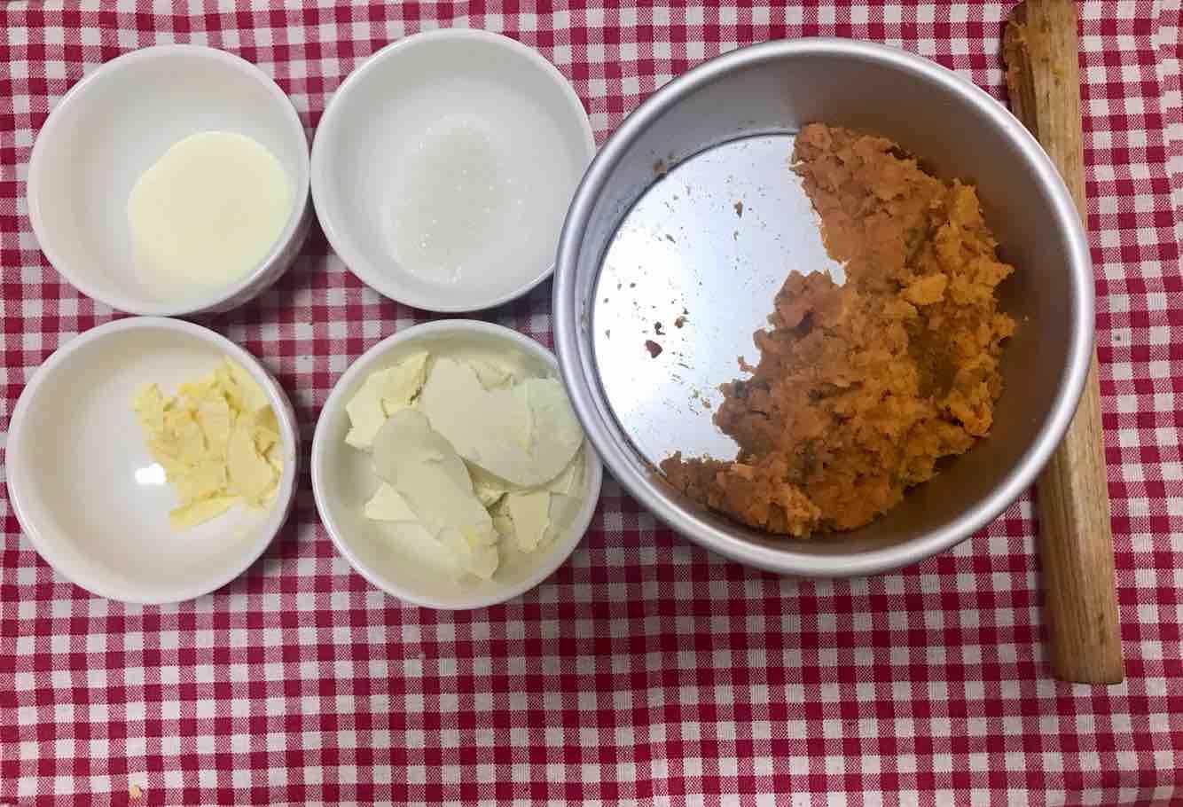 奶酪芝士焗红薯的家常做法