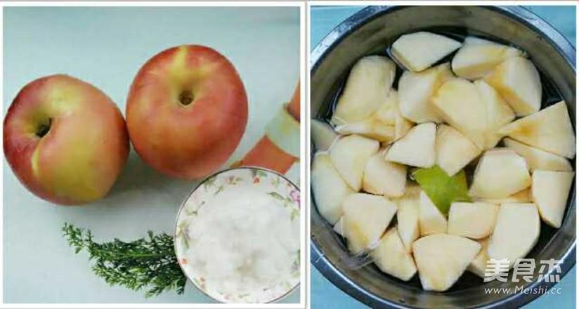 拔丝苹果的步骤