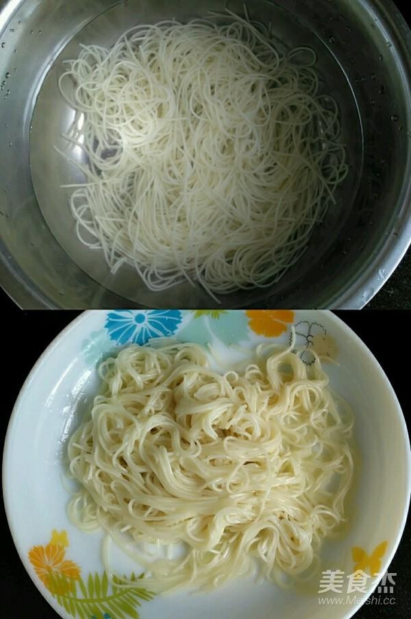 宝宝辅食~什锦炒面的做法图解