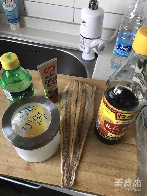 韩式凉拌明太鱼的步骤