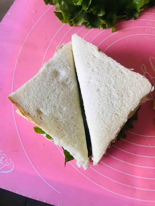 金枪鱼三明治怎么煸
