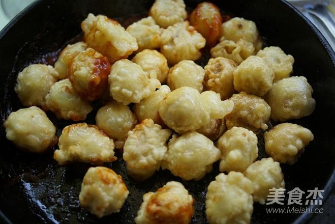 茄汁酥皮鹌鹑蛋的步骤
