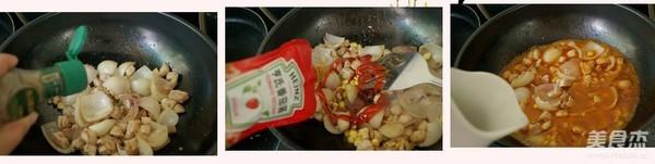 鸡丁时蔬意面的家常做法