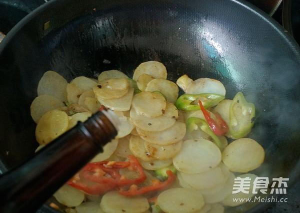 清炒土豆片怎么煸