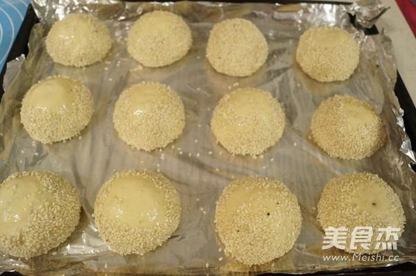 芝麻栗子小面包的制作