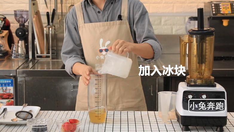 喜茶芝芝莓果的做法——小兔奔跑奶茶教程的家常做法