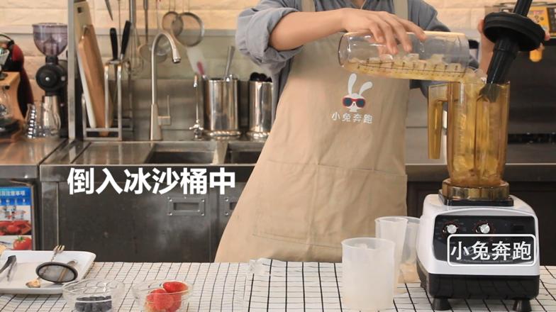喜茶芝芝莓果的做法——小兔奔跑奶茶教程的简单做法