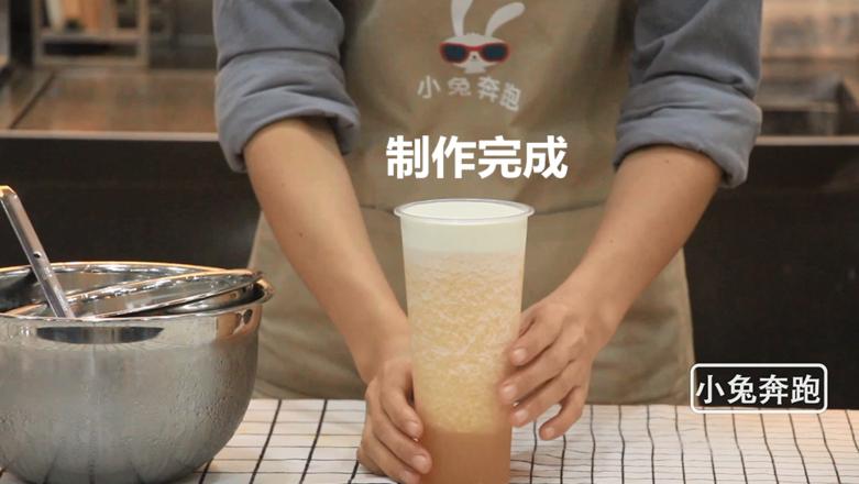 喜茶芝士哈密瓜的做法——小兔奔跑奶茶教程怎样煸