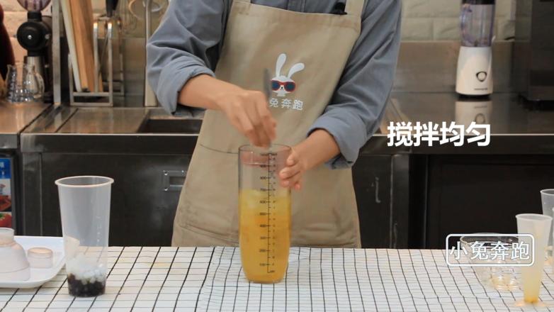 coco奶茶百香果双响炮的做法——小兔奔跑奶茶教程怎么炒