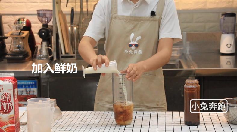 奈雪的茶厚厚生巧黑珍珠的做法——小兔奔跑奶茶教程怎么炖