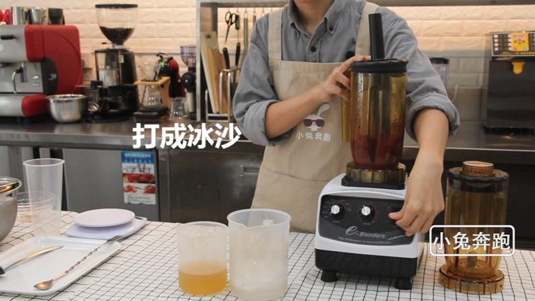 小兔奔跑奶茶教程:奈雪霸气车厘子的做法的家常做法