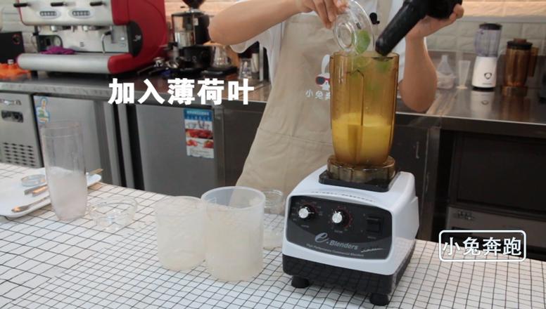 小兔奔跑奶茶教程:奈雪的茶醉柠檬的做法怎么炒