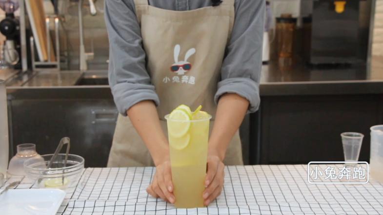 小兔奔跑网红奶茶芒果脏脏茶的做法怎么炒