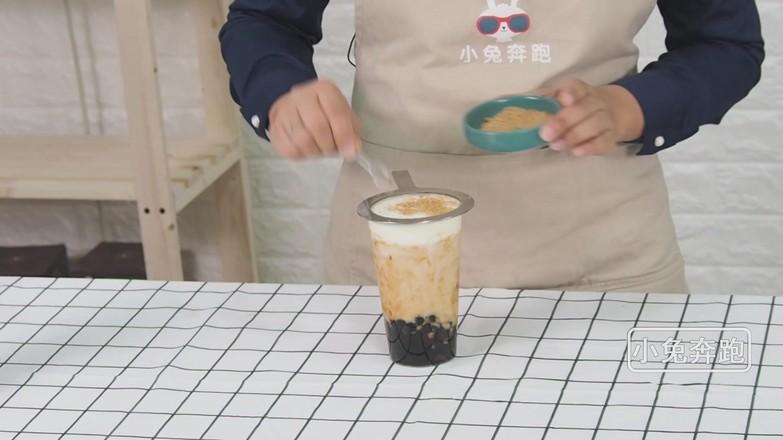 布蕾波波茶的做法——小兔奔跑奶茶培训怎么炖