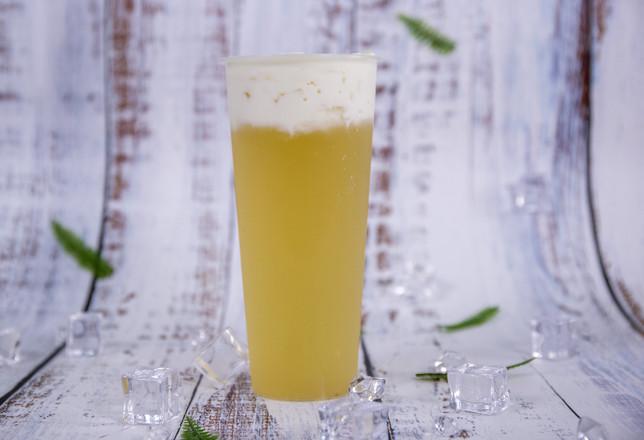 芝士茉莉绿茶的做法——小兔奔跑奶茶培训怎么煮