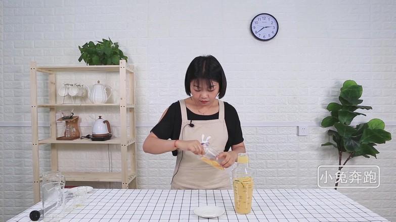 奈雪の燃爆橙子的做法——小兔奔跑奶茶培训怎么炒