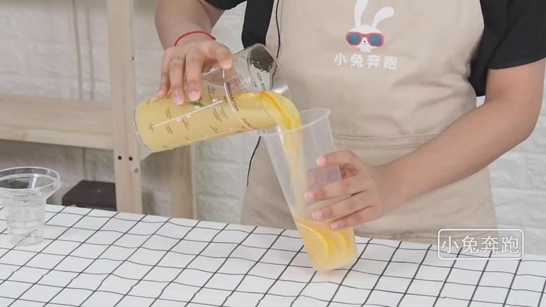 奈雪の燃爆橙子的做法——小兔奔跑奶茶培训怎么煮