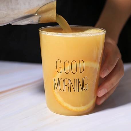 满杯橙子热饮版做法——小兔奔跑饮品教程怎么炖