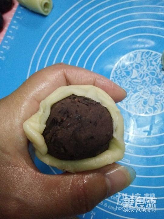 红豆酥月饼的制作
