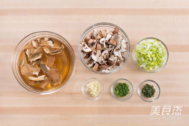 轻食·牛肝菌与混合菌菇意大利调味饭的做法大全
