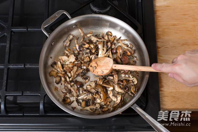 轻食·牛肝菌与混合菌菇意大利调味饭的做法图解