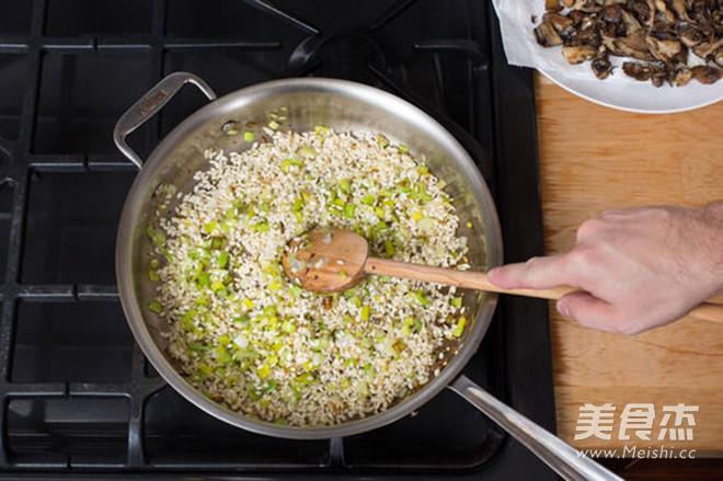 轻食·牛肝菌与混合菌菇意大利调味饭的家常做法