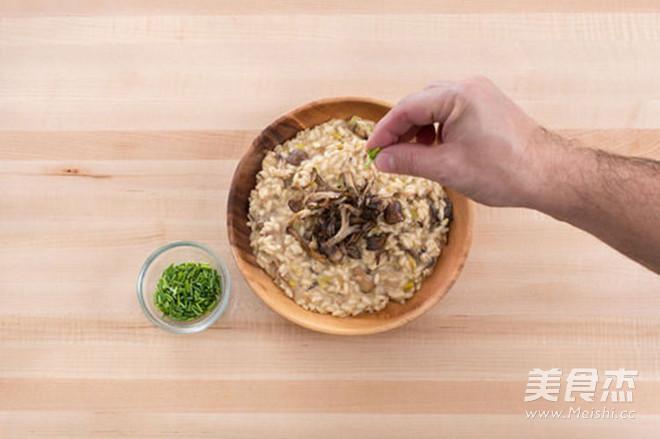 轻食·牛肝菌与混合菌菇意大利调味饭怎么做