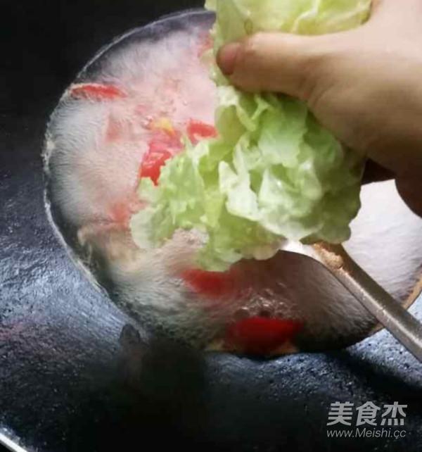 西红柿桂林米粉的简单做法