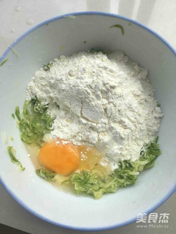 西葫芦鸡蛋饼的做法图解