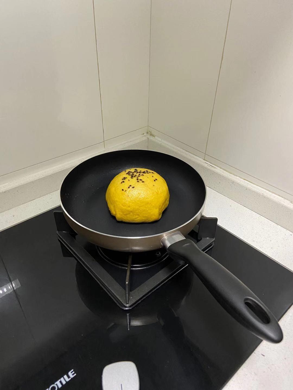 冬日的南瓜红豆千层饼怎么炒