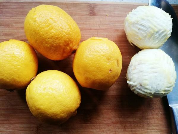 冰糖柠檬膏的做法大全