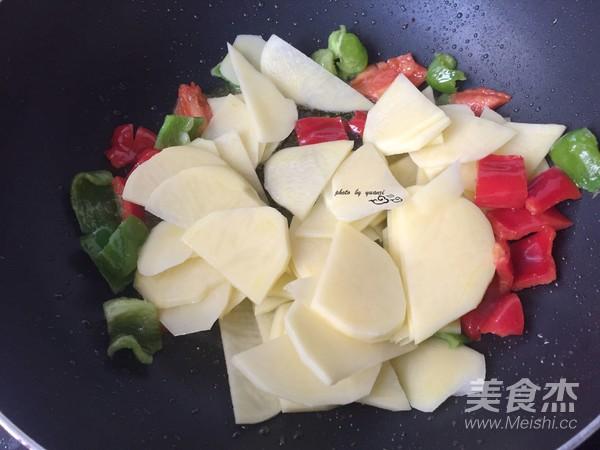 小炒土豆片怎么炒