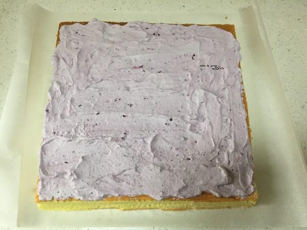 橙香蛋糕卷的步骤