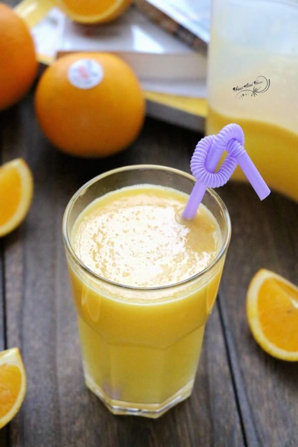 橙子苹果汁成品图