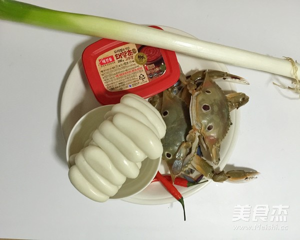 花蟹辣炒年糕的做法大全