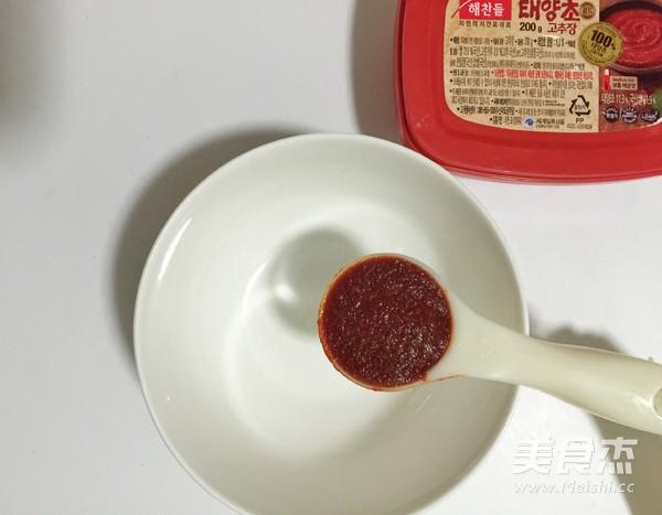 花蟹辣炒年糕怎么吃