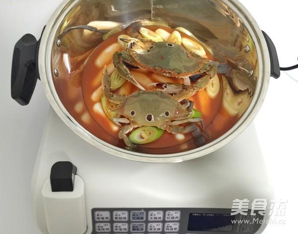 花蟹辣炒年糕怎么煮