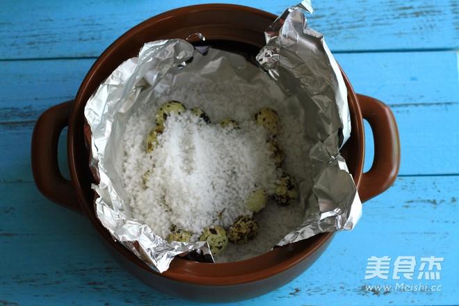 盐焗鹌鹑蛋的简单做法