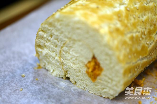 德普烤箱食谱——肉松面包卷怎样煸
