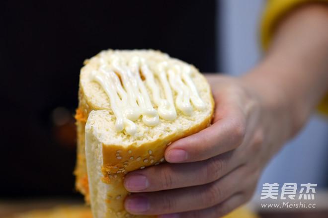 德普烤箱食谱——肉松面包卷怎样做