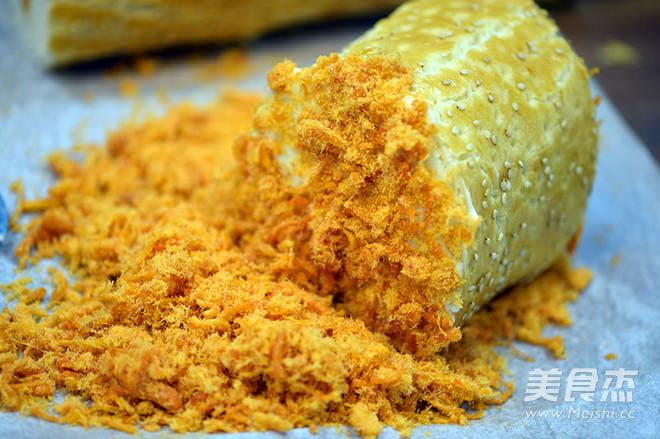 德普烤箱食谱——肉松面包卷怎样炒