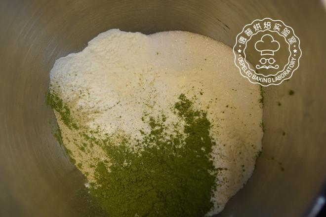欧式抹茶红豆面包的做法大全