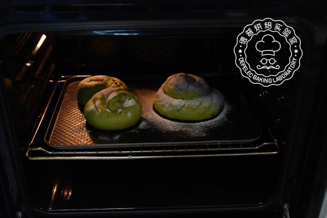 欧式抹茶红豆面包怎么煸