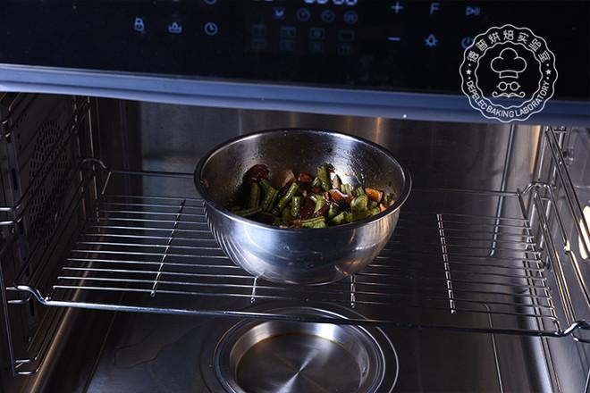 豆角蒸面的简单做法